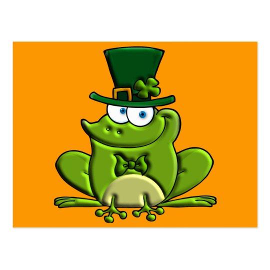 Paddy O'Frog Postcard