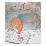 Paddy Paws Reads a Picture Book Print
