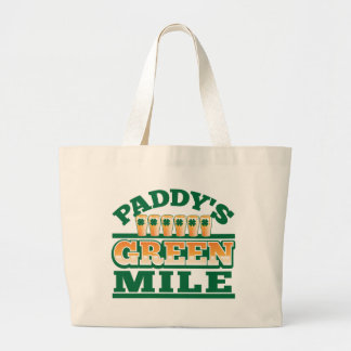 Paddy s GREEN MILE from The Beer Shop Tote Bag
