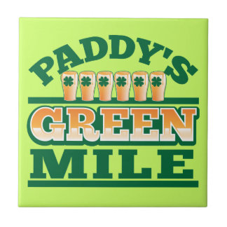 Paddy s GREEN MILE from The Beer Shop Tile
