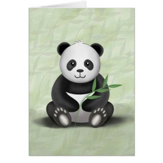Paddy the Panda - Greeting Card