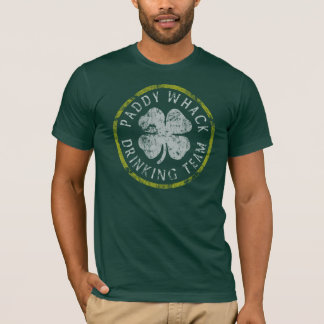 Paddy Whack Irish Drinking Team t shirt
