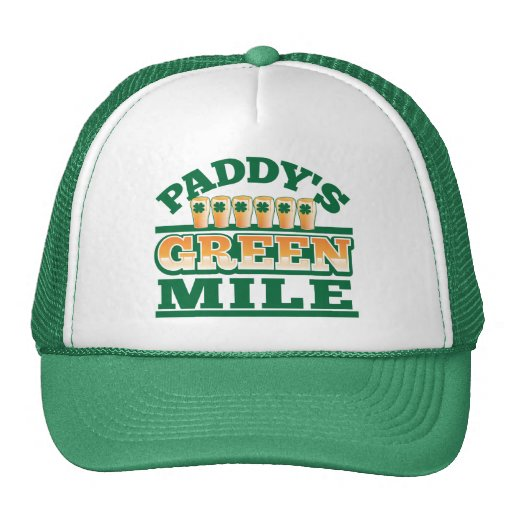 Paddy's GREEN MILE from The Beer Shop Mesh Hat