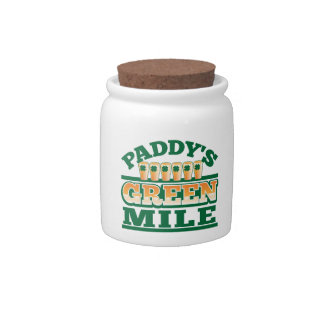 Paddy's GREEN MILE from The Beer Shop Candy Jar