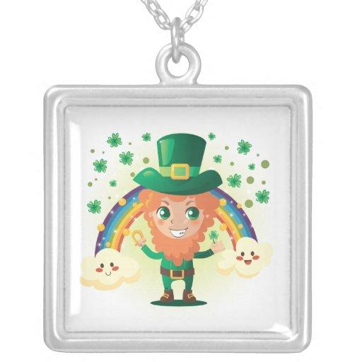 Paddy's Leprechaun Pendant