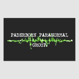 Paderborn Paranormal Group Ghost Hunter sticker