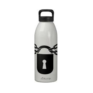 Padlock Acessories Water Bottles
