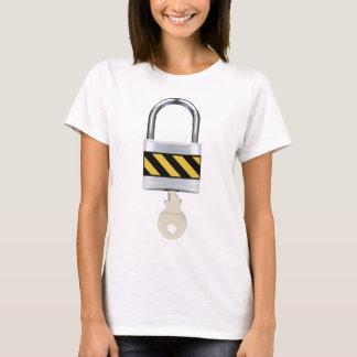 Padlock and Key T-Shirt