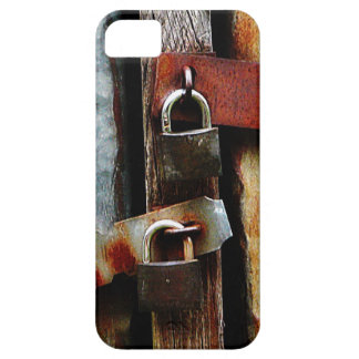 Padlocks and Rusty Metal Bars iPhone 5 Covers