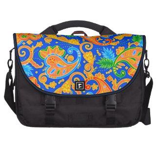 padrão com cornecopias laptop bag