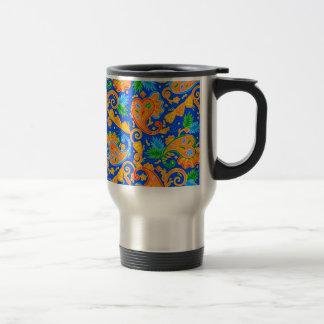 padrão com cornecopias mug