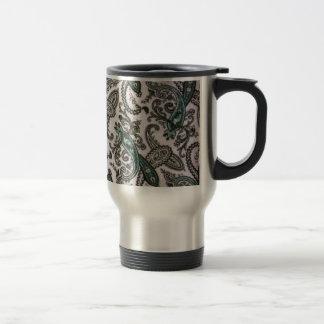 padrão com cornecopias coffee mug