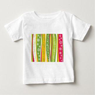padrão com enfeites de natal shirt