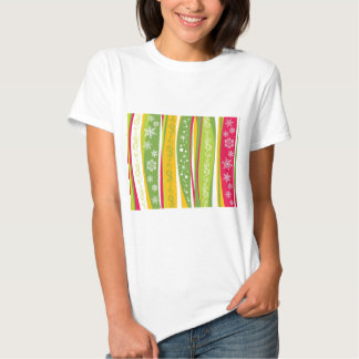 padrão com enfeites de natal t-shirt