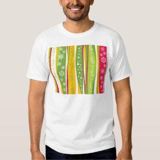 padrão com enfeites de natal t shirts