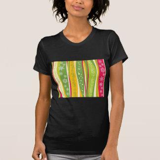 padrão com enfeites de natal tshirt