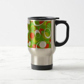 padrão com formas geometricas coffee mug