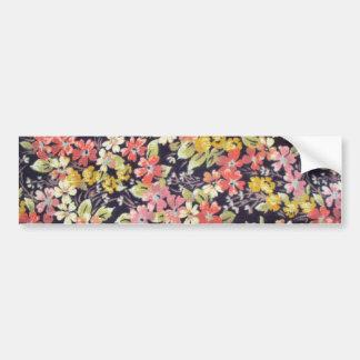 padrão de florinhas varias cores adesivos