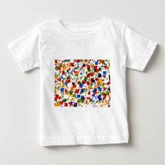 padrão de quadradinhos coloridos shirts