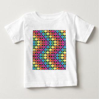 padrão em zig zag colorido shirt