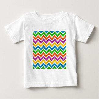 padrão em zig zag t-shirts