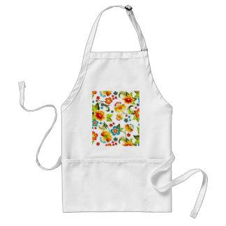 padrão floral bonito standard apron