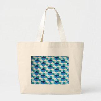 padrão formas geometricas tote bags