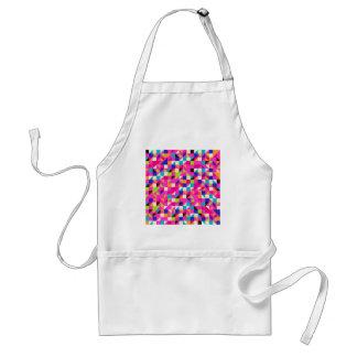 padrão geometrico standard apron