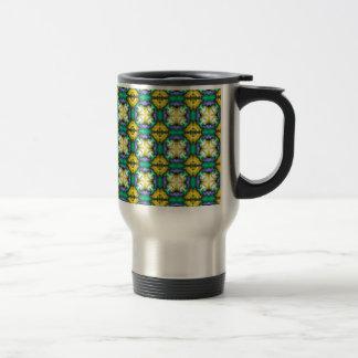 padrão tipo moisaico coffee mug