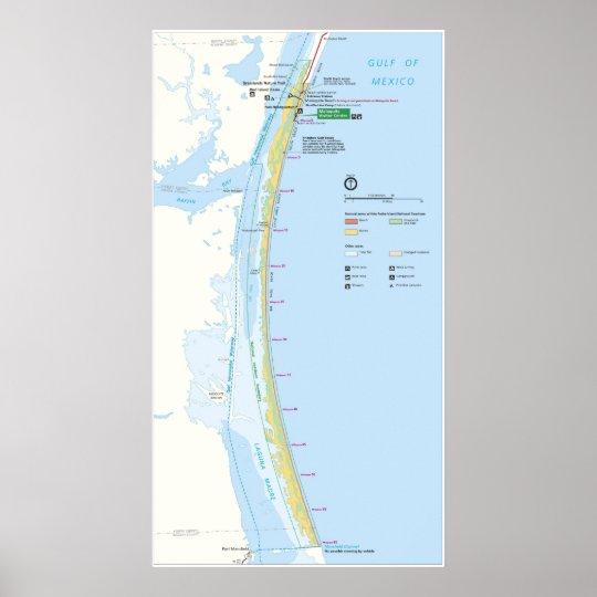 Padre Island National Seashore Poster