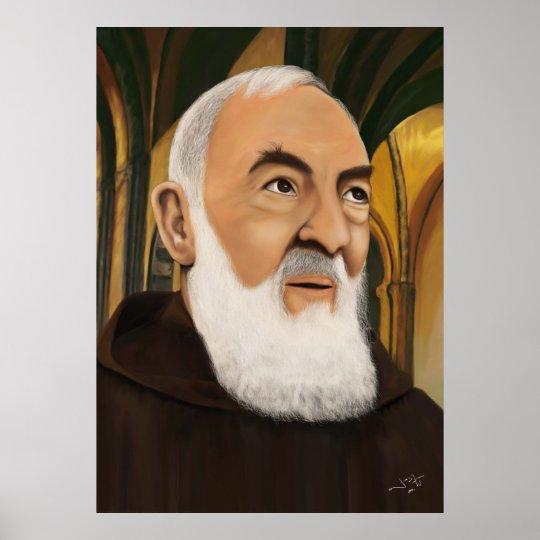 Padre Pio of Pietrelcina Poster