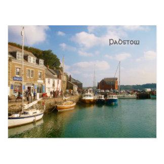 Padstow Cornwall England Postcard
