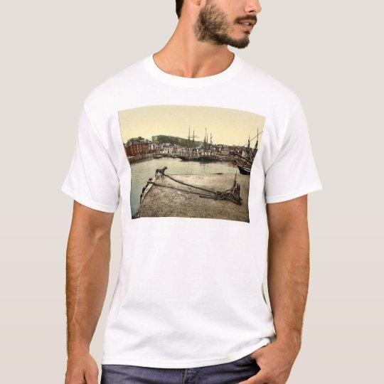 Padstow Quay, Cornwall, England classic Photochrom T-Shirt