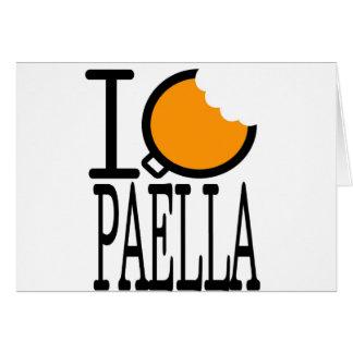 paella passion greeting card
