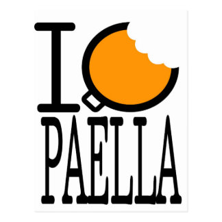 paella passion post cards