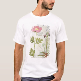 Paeonia or Peony, and Orchis myanthos T-Shirt
