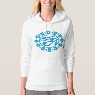 Pagan Ancient Egyptian Eye of Horus Occult Symbol Hooded Pullovers