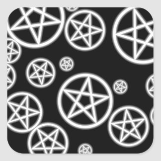 Pagan Art Square Sticker