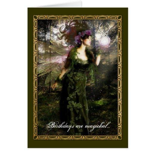 Pagan Birthday Greeting Card   Zazzle