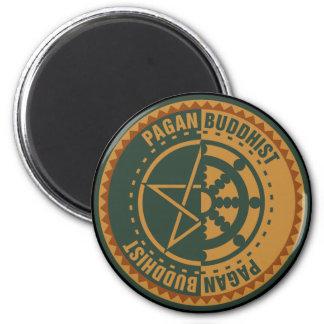 Pagan Buddhist Magnet