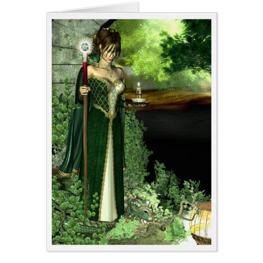 Pagan Card - Spirit of the Forest