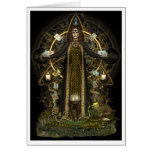 Pagan Card - Witch of the Tarot