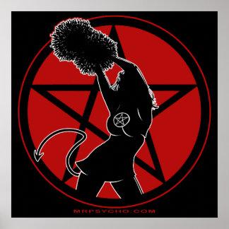 Pagan Cheerleader Poster