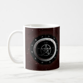 Pagan Elements wheel Basic White Mug