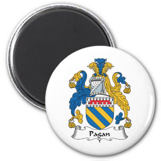 Pagan Family Crest Magnet