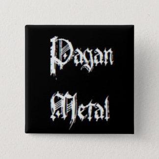 Pagan Metal 15 Cm Square Badge