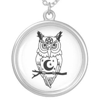 Pagan Owl Necklace