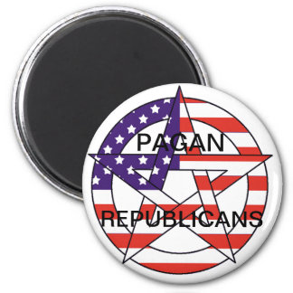 Pagan Republicans Magnet