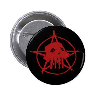 Pagan Skull Button