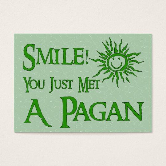 Pagan Smile Business Card